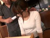 Tied up Japanese teen moans from hardcore dildo insertion picture 12