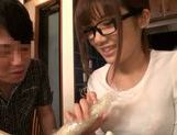 Tied up Japanese teen moans from hardcore dildo insertion picture 5