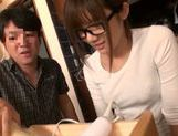 Tied up Japanese teen moans from hardcore dildo insertion picture 6