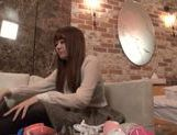 Sexy japanese model gets fucked really hard picture 9