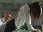 Office lady Khizuru Sakura in hot office action
