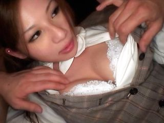 Marika Lovely Asian babe has hot hard sex