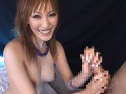 Skilled MILF Shinju Murasaki Gives Her Best Handjobsexy asian, horny asian}