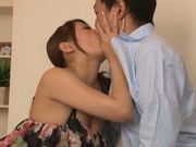 Pussy licking for naughty milf Miku Hasegawa