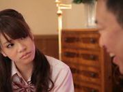 Nice teen Rina Ozawa likes to have hard sex