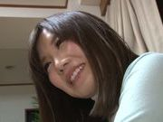 Arousing Saki Mizumi enjoys hot phone sex