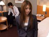 Sana Heart Lovely Asian secretary