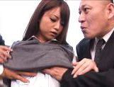 Akiho Yoshizawa Asian model gets her juicy pussy fingered