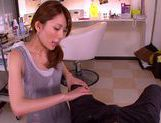 Rin Sakuragi blowjob from a cock hungry girl and fucking hot picture 13