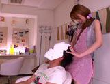 Rin Sakuragi blowjob from a cock hungry girl and fucking hot picture 4