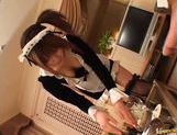 Saki Tsuji Hot Japanese waitress enjoys hard fucking picture 15