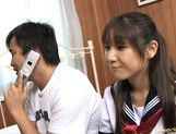 Momo Aizawa Japanese teacher gets licked and fucked