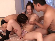 Cum in the mouth of hot Asian rouge Fuuga Kagawaasian teen pussy, japanese porn, horny asian}