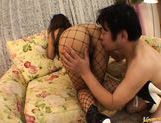 Marie is a lovely Japanese doll who is giving a blowjob picture 12