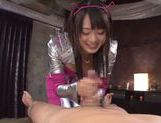 Kokoro Harumiya hot Asian teen in cosplay sex action