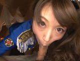 Sweet Aozora Yamakawa enjoys deep blowjob