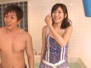 Lovely Yuma Asami receives a nice rear fucking