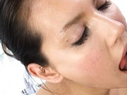 Maria Ozawa Japanese model gives a sweet blowjob