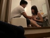 Foxy Japanese milf deepthroats and rides cock for voyeurs' pleasure