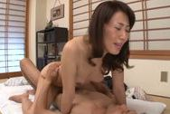 Mako Morishita gets seduced by younger dudebig tits sex, big asian boobs, asian boobs