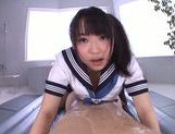Busty Akane Yoshinaga likes to ride