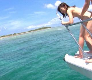 Haruka Itoh Amazing Japanese babe has outdoor sex