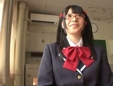 Naughty AI Uehara goes nasty with her horny teacher picture 12