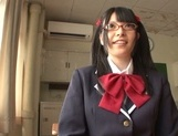 Naughty AI Uehara goes nasty with her horny teacher picture 5