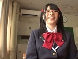 Naughty AI Uehara goes nasty with her horny teacher picture 8