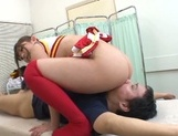 Hardcore milf Satou Haruka gets ready to be plowed by hard cock