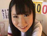 Savory Japanese schoolgirl Rin Suzune enjoys headfuck picture 13