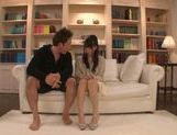 Stunning AV girl Yuuki Itano gets her pink kitty drilled picture 1