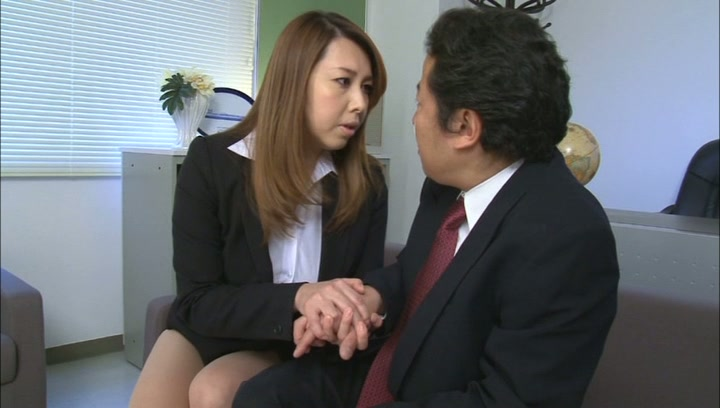Lustful Asian mature teacher Yumi Kazama is a passionate cock lover