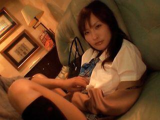 Nao Ayukawa adorably sexy Japanese schoolgirl