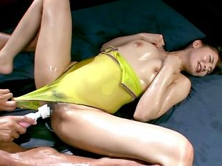 Strong drilling for Nono Misuzawa's tight pussy