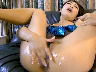 Busty Reiko Kobayakawa likes to get dirty sex