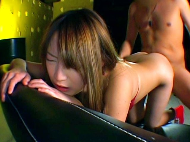 Iruka Asian doll enjoys a rear fucking