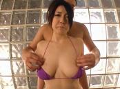 Lustful Tokyo babe with big tits Sena Minami enjoys titfuck on pov