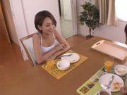 Shaved pussy of Karen Aoki endures fucking