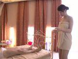 Alluring Asian milf Iroha Sagara gets soaped enjoying foot work