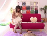 Arousing Ruri Nanasawa loves to dominate picture 13