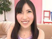 Yummy Asian teen Yuki Komiyama in a kinky solo action