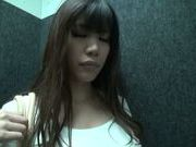 Maika Sakurazaki hot Asian model gives amazing blowjob