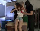 Savory Japanese teen Hikaru Shiina gets drilled by dildo toys picture 5