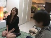 Kinky Asian stunner Riri Ouka adores tough oral games