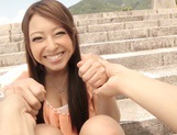 Enjoy hardcore bang bus action with Japanese model picture 15