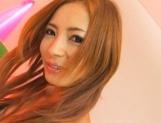 Shiori Ayase Japanese model enjoys her pussy teased