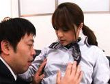 Mihiro Hot Japanese doll has kinky sex in the office picture 15