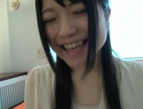 Hot Asian bang-up babe gets her hairy kitty fucked and creamed hard picture 12