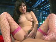 Alluring Asian milf Hibiki Ohtsuki engulfs and rides peckerhorny asian, asian wet pussy}